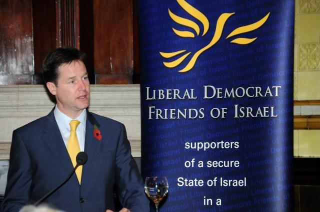 Nick Clegg addresses LDFI lunch 10 Nov 2010