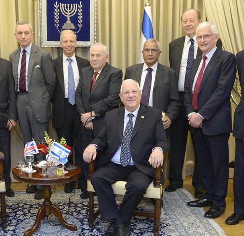 Peers with President Rivlin LD version