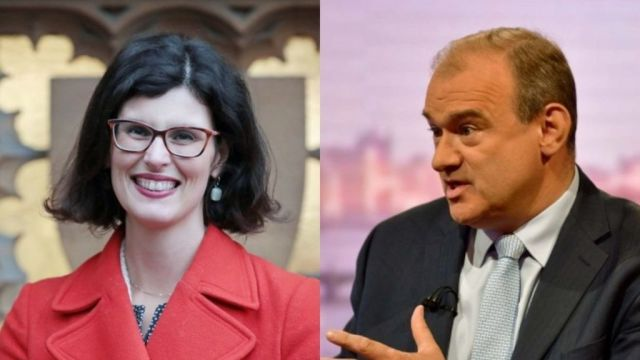 Layal Moran and Ed Davey Source: BBC